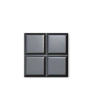 SERENA Black 3D Mural Satin 30x30