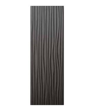 Glossy wave black 30x90