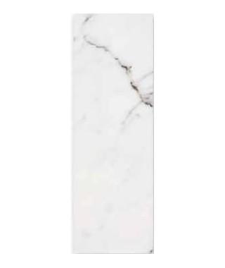 Silver calacata glossy 30x90