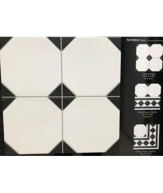 OXFORD Negro 33x33 K02