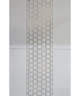 WHITE GOLDEN DECOR Mural 30x60