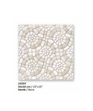 GARDEN Bone Mat Sol 50x50