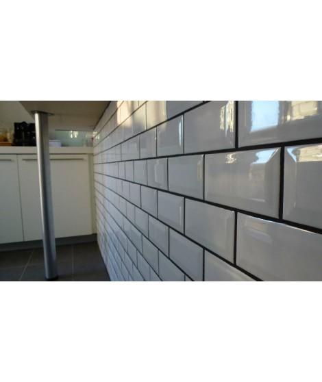 METRO Blanc 10x20 - Carrelage bruxelles