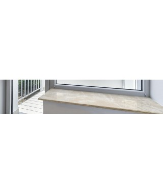 cool marbre beige cm sur mesure with tablette radiateur marbre. Black Bedroom Furniture Sets. Home Design Ideas