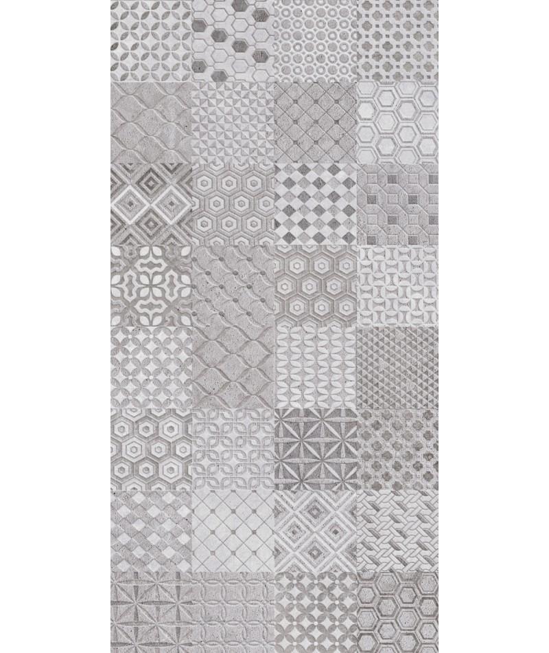 trassimeno mix motif grey decor 30x60 carrelage bruxelles. Black Bedroom Furniture Sets. Home Design Ideas