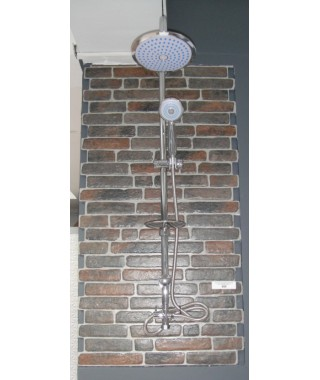 SS004 CHROME Colonne de douche Design ELALLAR