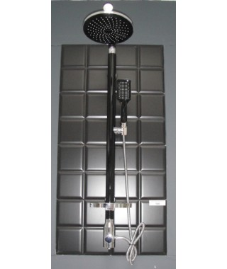 SL003 BLACK Colonne de Douche Design ELALLAR