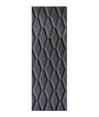 Glossy diagon black 30x90