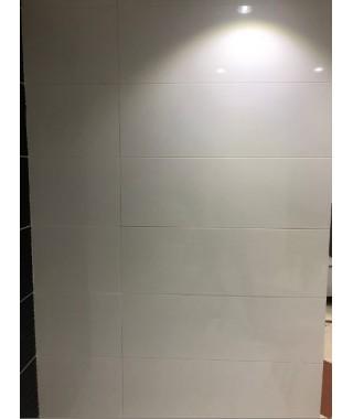 GLOSSY White 30x90