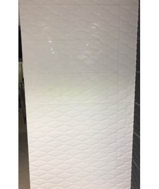 GLOSSY Diagon White 30x90