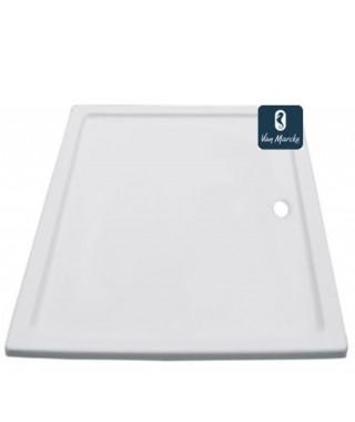 EDEN Tube de douche en acrylique blanc 160x90x3.5cm