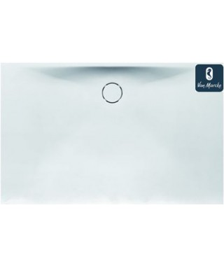 PROTON Tub de douche en solid surface blanc 180x90x3.5cm
