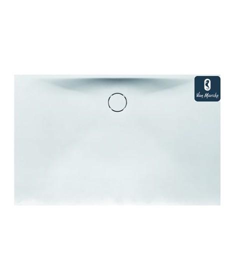 PROTON Tub de douche en solid surface blanc 180x90x3.5cm