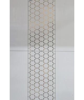 WHITE GOLDEN DECOR Mural 30x60